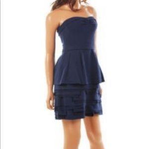 BCBGMaxazria Strapless Mini Cocktail Dress Size 8